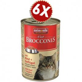 Animonda Sığır&Kümes Hayvanlı Yetişkin Kedi Konserve 400Grx6 adet