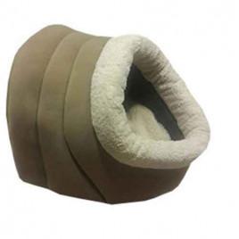 Alaska Kedi Köpek Yuvası Kahverengi 47 X 40 X 38 Cm