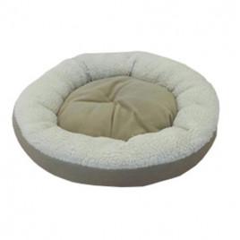 Bedspet Simit Kedi-Köpek Yatağı Bej