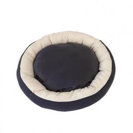 Bedspet Simit Kedi-Köpek Yatağı Koyu Gri-Kahve