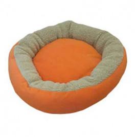 Simit Kedi Köpek Yatağı Turuncu