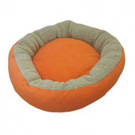 Bedspet Simit Kedi-Köpek Yatağı Turuncu