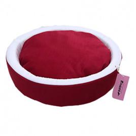 İnce Sepet Kedi Köpek Yatağı Kırmızı
