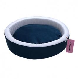 İnce Sepet Kedi Köpek Yatağı Mavi