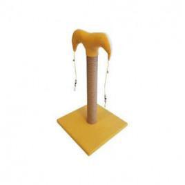 Bedspet İnce Tırmalama Tahtası 50 cm Sarı