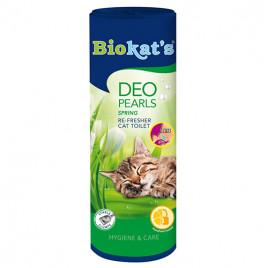 Biokats Deo Pearls Bahar Esanslı Kedi Kumu Parfümü 700 Gr
