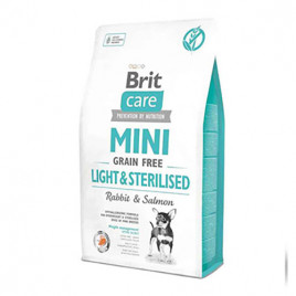Tahılsız Mini Light Steril Tavşan Somon Köpek Maması 2 Kg