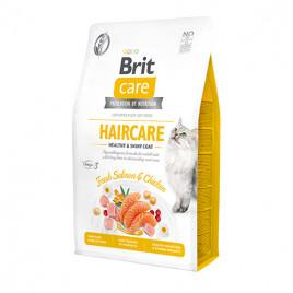 Brit Grain Free Hair Care Healthy Shiny Coat Tavuk Somon Kedi Maması 2 Kg