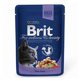 Brit Premium Cat Pouches Morina Balıklı Kedi konservesi 6x100 Gr