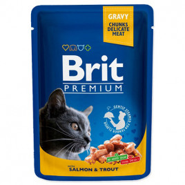 Brit Premium Cat Pouches Tavuk & Hindili Kedi Konservesi 6x100 Gr