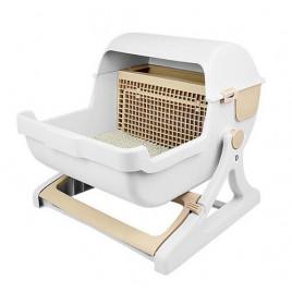 Catıt Fonksiyonel Kedi Tuvalet Kabı 48,5x25,5x55 Cm