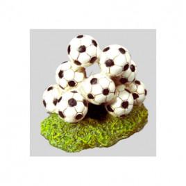 Dekor Futbol Topları 13x8,5x11,5 Cm