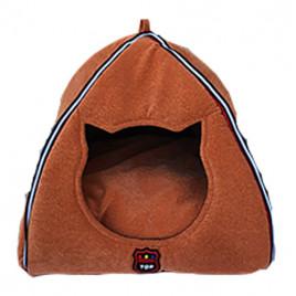 Piramit Fonksiyonel Kedi Yuvası Kiremit 40x45 Cm