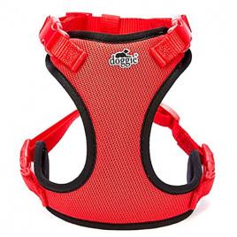 Havalı Ped Dokuma Göğüs Tasması 2x55-65cm Red