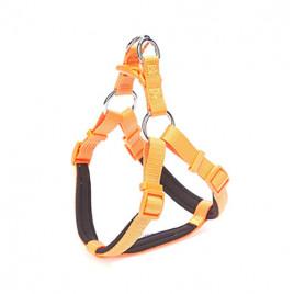 Konfor Ronin Dokuma Göğüs Tasması 2x55-65cm Orange