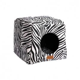 Dubex 3D Kulübe Vr01 Siyah Zebra