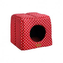 3D Kulübe Vr03 Kırmızı Benekli