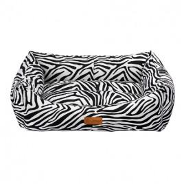 Makaron Vr06 Siyah Zebra Large 78x60x22 Cm
