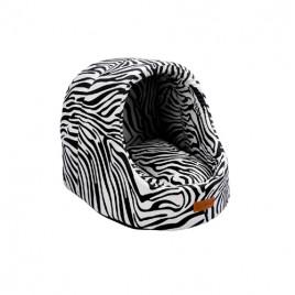 Mini Cave Kulübe Vr01 Siyah Zebra