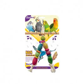 EuroBird Kuş Oyuncağı Renkli V Şekilli Boncuk