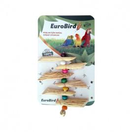EuroBird Kuş Oyuncağı Süpürge Otu Askılı
