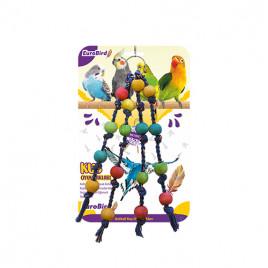 EuroBird Kuş Oyuncağı İpli Boncuk