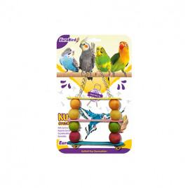EuroBird Kuş Oyuncağı Üçlü Salıncak