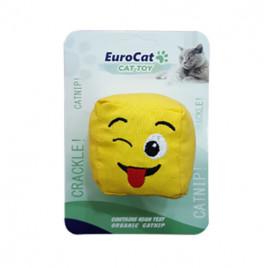 EuroCat Kedi Oyuncağı Dil Çıkaran Smiley Küp