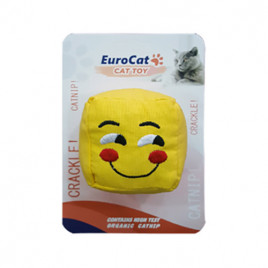 EuroCat Kedi Oyuncağı Gülen Smiley Küp