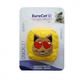 EuroCat Kedi Oyuncağı Kedi Suratlı Küp