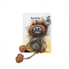 EuroCat Kedi Oyuncağı Püsküllü Maymun