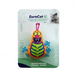 EuroCat Kedi Oyuncağı Turuncu Tırtıl
