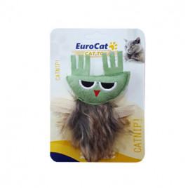 EuroCat Kedi Oyuncağı Yeşil Sincap