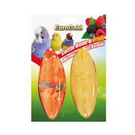 EuroGold Meyve Aromalı Mürekkep Balıklı Gaga Taşı 12cm 2'li