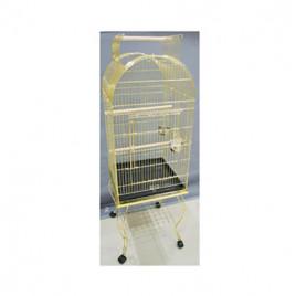EuroGold Sehpalı Papağan Kafesi Gold 51x51x152 Cm