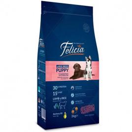 Felicia Az Tahıllı Kuzulu Büyük Irk Yavru Köpek Maması 3 Kg