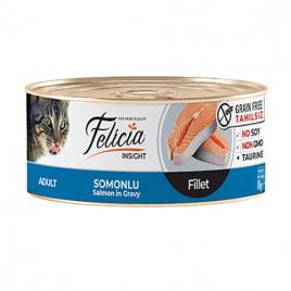 Tahılsız Somonlu Fileto Kedi Konservesi 6x85 Gr