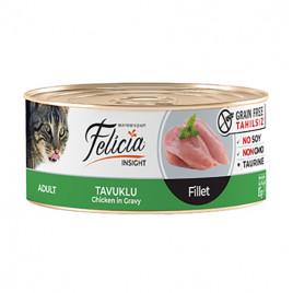 Tahılsız Tavuklu Fileto Kedi Konservesi 12x85 Gr