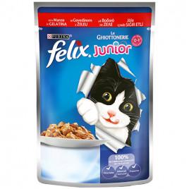 Felix Junior Sığır Etli Yavru Kedi Pouch 100 Gr