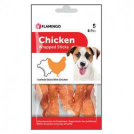 Flamingo Chicken Wrap Tavuklu Çubuk Köpek Ödülü 6 lı 70 gr