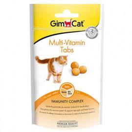 Gimcat Multi-Vitamin Tabs Kedi Ödül Tableti 40 Gr