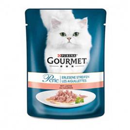 Gourmet Perle Izgara Somonlu Kedi Konservesi  85 Gr 6 Lı Avantaj Paketi