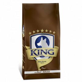 King Biftekli Yetişkin Kuru Köpek Maması 15 Kg