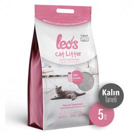 Cat Litter Baby Powder Kokulu Kalın Bentonit Kedi Kumu 2x5 Lt