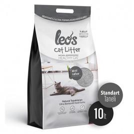 Cat Litter Grey Aktif Karbonlu Bentonit Kedi Kumu 10 Lt
