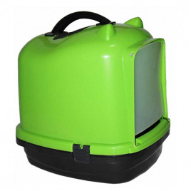 Pet Style Comfort Kapalı Kedi Tuvaleti Yeşil
