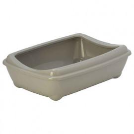 Moderna Aristo Açık Kedi Tuvalet Kabı Gri 42 Cm