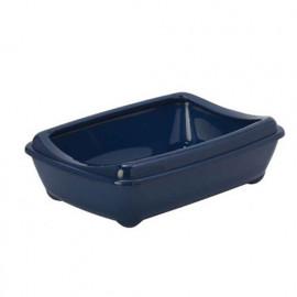 Moderna Aristo Açık Kedi Tuvalet Kabı Lacivert 42 Cm
