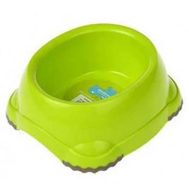 Köpek Plastik Mama ve Su Kabı Yeşil 1245 Ml