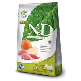 N & D Domuz & Elma Tahılsız Küçük Irk Yetişkin Köpek Maması 2,5 Kg